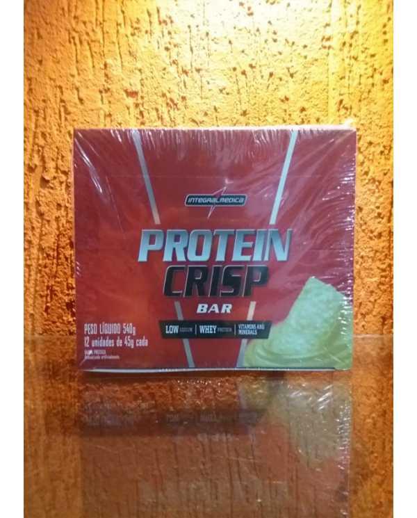 Protein Crisp Bar Caixa 12 Unidades