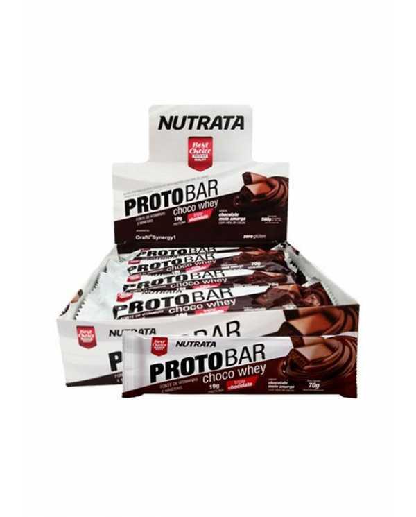 Proto bar caixa com 8 barras Nutrata
