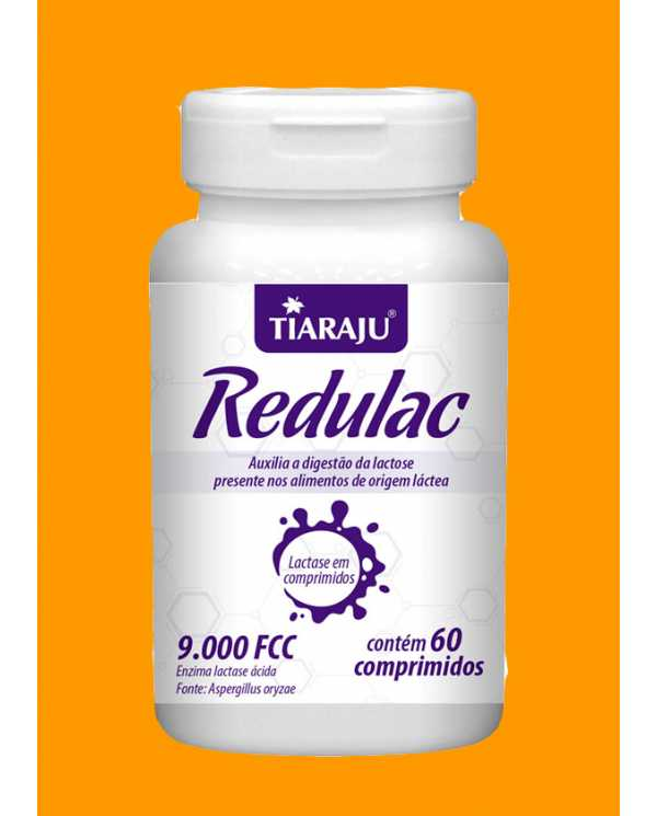 Redulac 9.000 FCC 60 comprimidos
