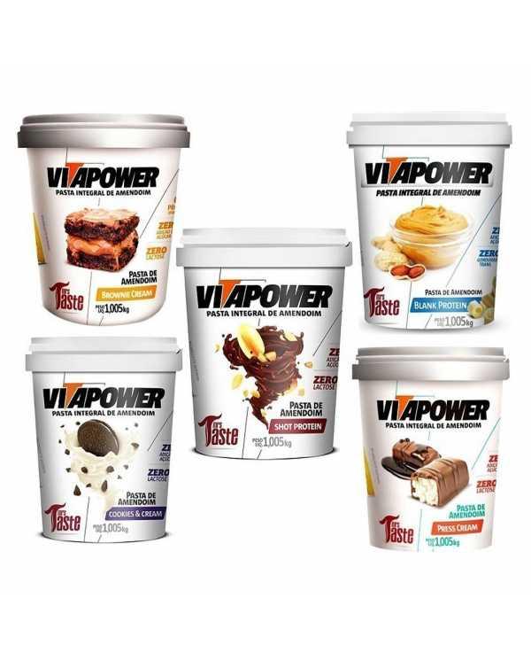 Vitapower Pasta Integral de Amendoim 1,005kg