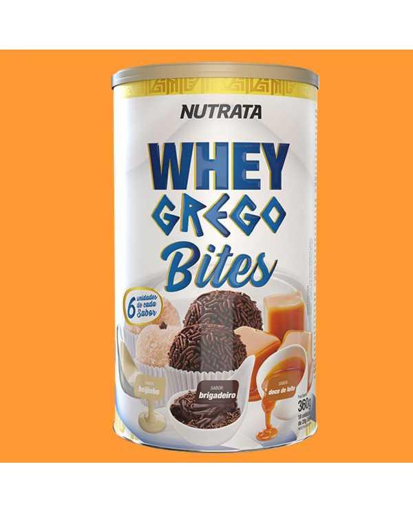 Whey Grego Bites Lata Cream com 18 unidades