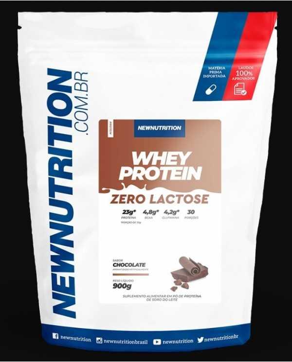 Whey Protein Zero Lactose 900g