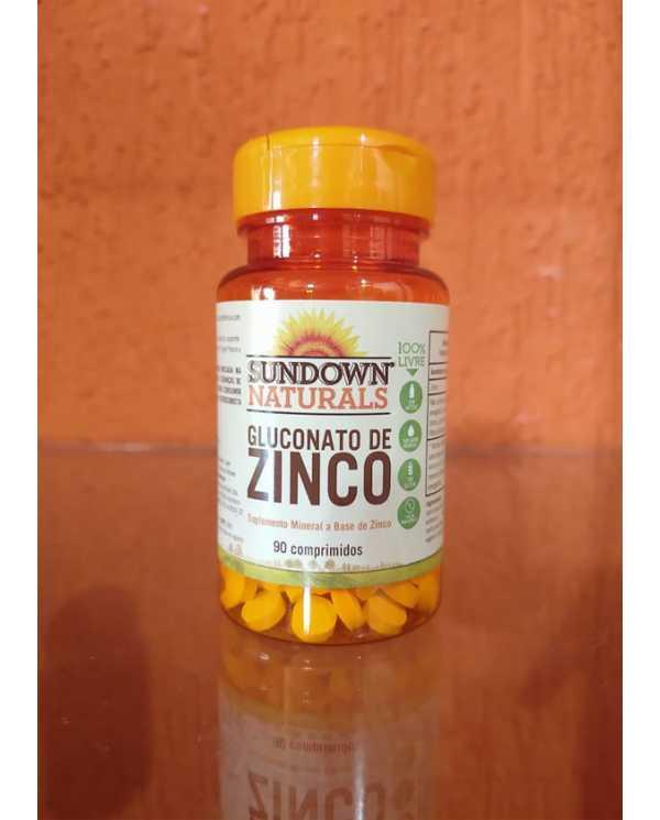 GLUCONATO DE ZINCO 7MG 90 COMPRIMIDOS