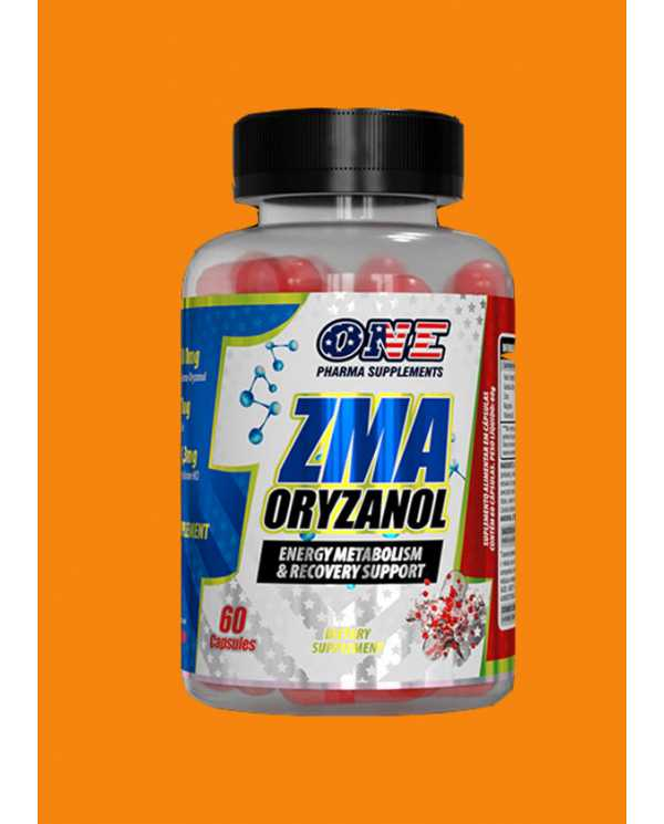 ZMA ORYZANOL 60Caps(matéria prima importada)